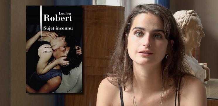 """Sujet inconnu : """"Loulou Robert traite très bien le sujet, avec cette narration incisive et brute"""" selon Coralie, lectrice"""