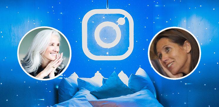 Attention pirates ! Frédérique Deghelt et Tatiana de Rosnay détournent Instagram