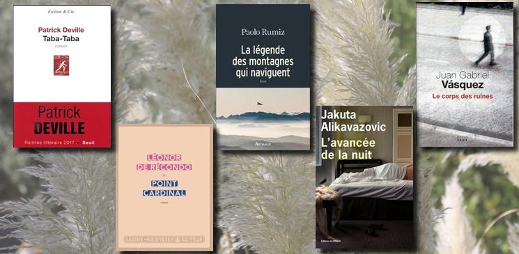 """Rentrée littéraire 2017 : """"épiques"""", """"magnifiques"""", forts""""... Suivez les conseils des lecteurs"""