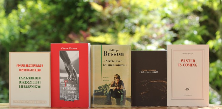 Le jury du Prix Orange du Livre 2017 vous présente les 5 finalistes !