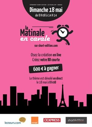 """Participez à """"La Matinale en Cavale"""" avec Short Edition !"""