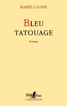 Bleu tatouage de Marie Causse