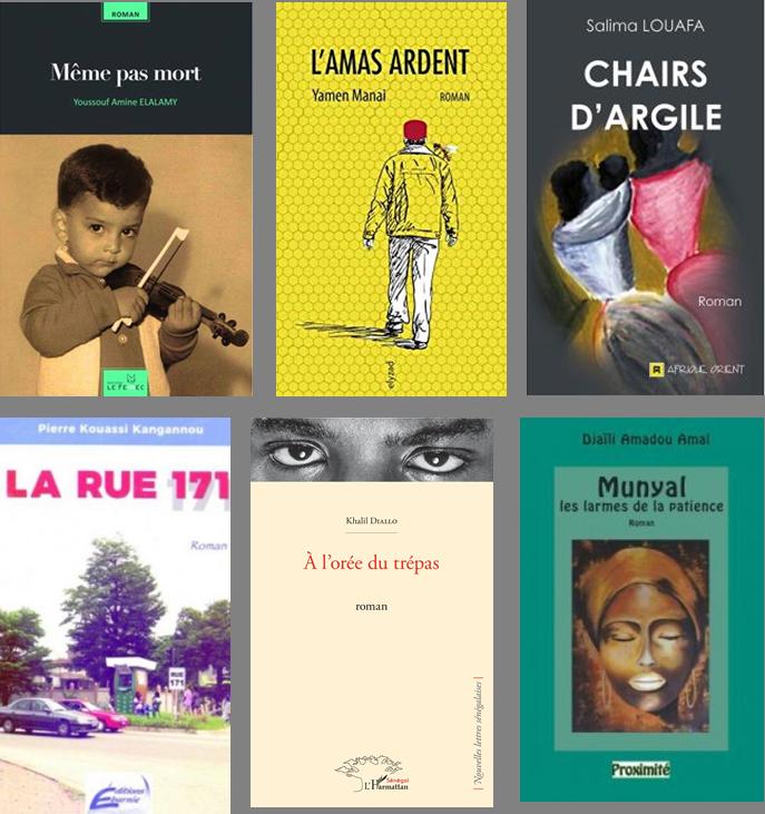 Venez rencontrer les 6 auteurs finalistes de la 1ère édition du Prix Orange du Livre en Afrique