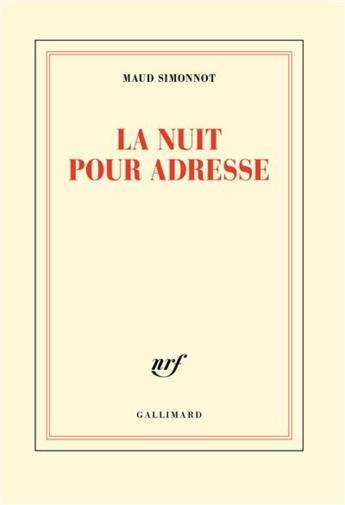 """""""La nuit pour adresse"""" de Maud Simonnot [Club des Explorateurs #73]"""