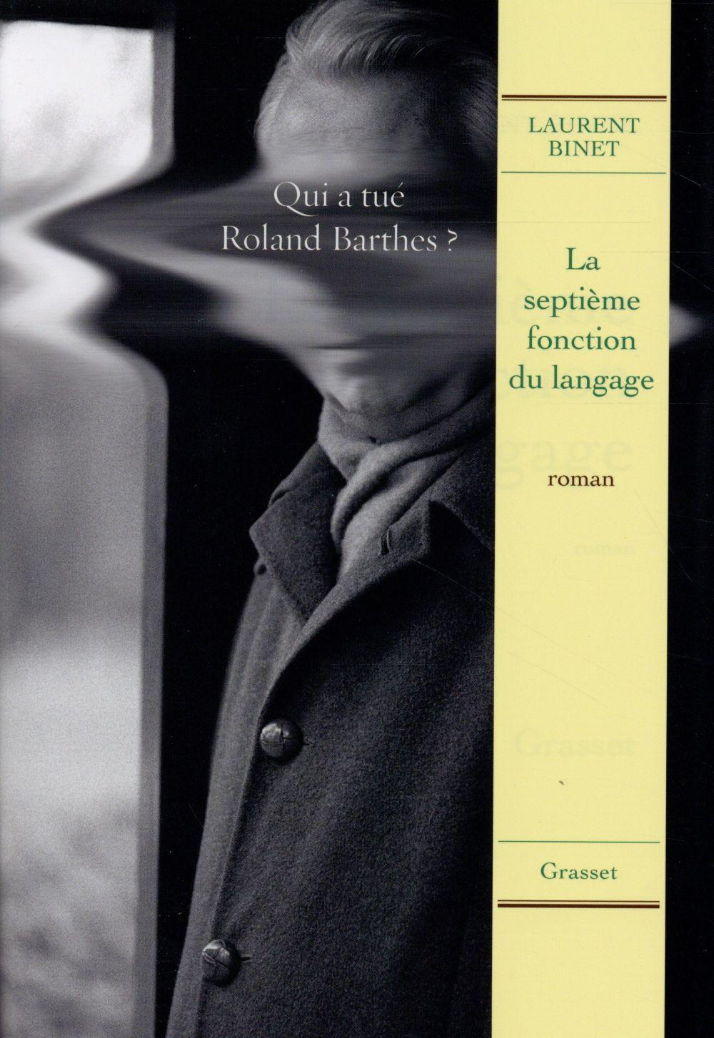 """#RL2015 Explorateurs : """"La septième fonction du langage"""", Laurent Binet"""