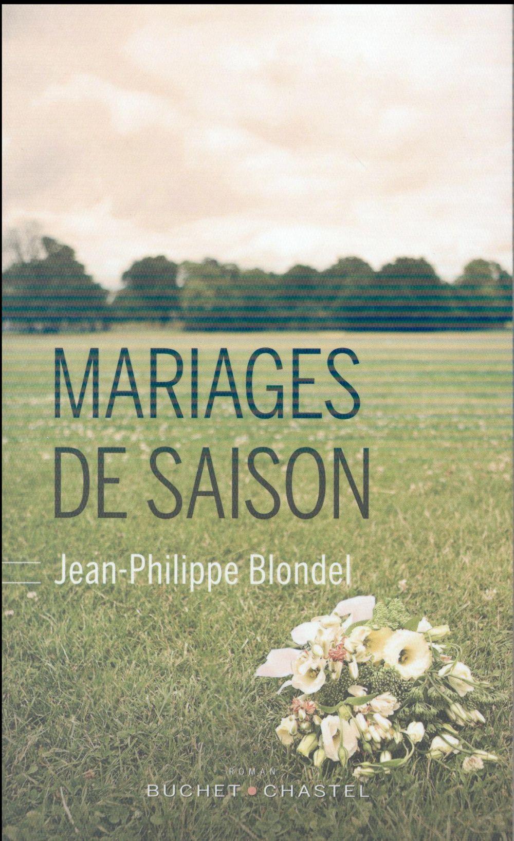 """Quand Jean-Philippe Blondel vient évoquer ses """"Mariages de saison"""""""