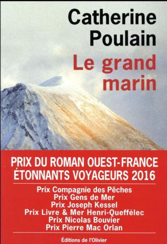 "On aime, on vous fait gagner ""Le grand marin"" de Catherine Poulain"