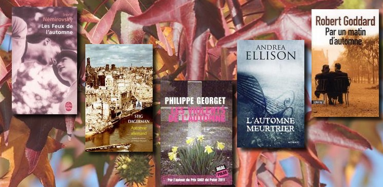 La bibliothèque de l'automne : des romans inspirés