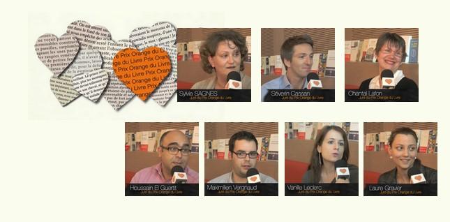 Les internautes membres du jury du Prix Orange du Livre 2014 livrent leurs premières impressions !