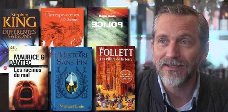 La bibliothèque idéale d'Olivier Norek