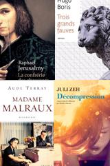 Des livres attendus pour la rentrée littéraire