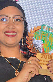 L'engagement récompensé : Djaïli Amadou Amal, lauréate du 1er Prix Orange du Livre en Afrique !