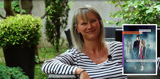"""Conversation virtuelle avec Marine Carteron, auteur des """"Autodafeurs"""""""