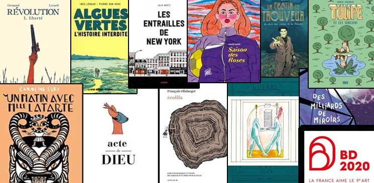 Festival International de la BD d'Angoulême 2020 : 11 albums à découvrir !