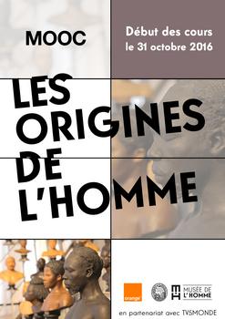 Cet automne, suivez le MOOC Les origines de l'Homme et retrouvez vos origines