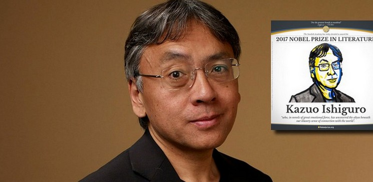Kazuo Ishiguro, Prix Nobel de littérature : Bravo !