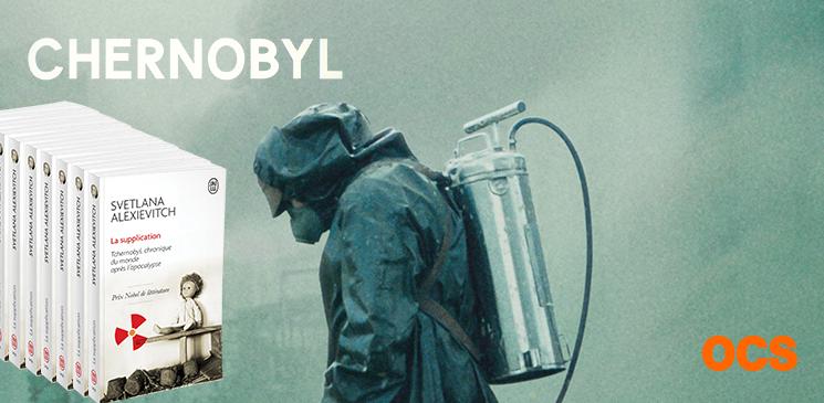 """Gagnez des exemplaires de """"La supplication"""", le livre à l'origine de la série-choc """"Chernobyl"""" !"""