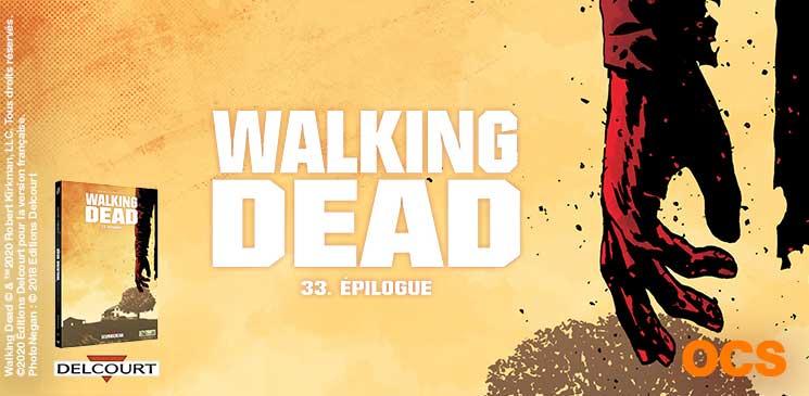 On aime, on vous fait gagner l'Epilogue de la série-phénomène « Walking Dead » !
