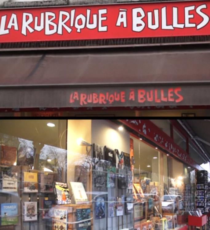 Parole de libraires spéciale BD avec Thomas de la librairie La Rubrique à bulles