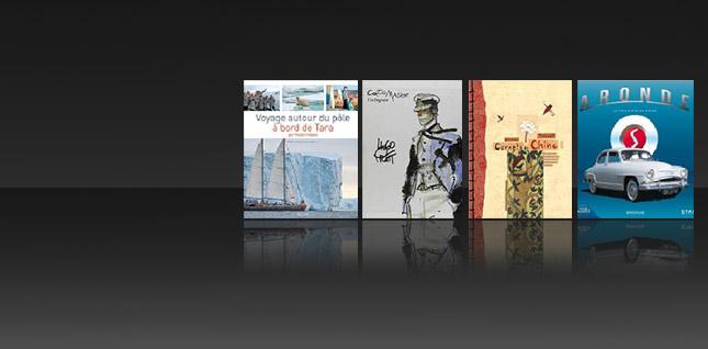 Les beaux livres, ça fait toujours rêver !