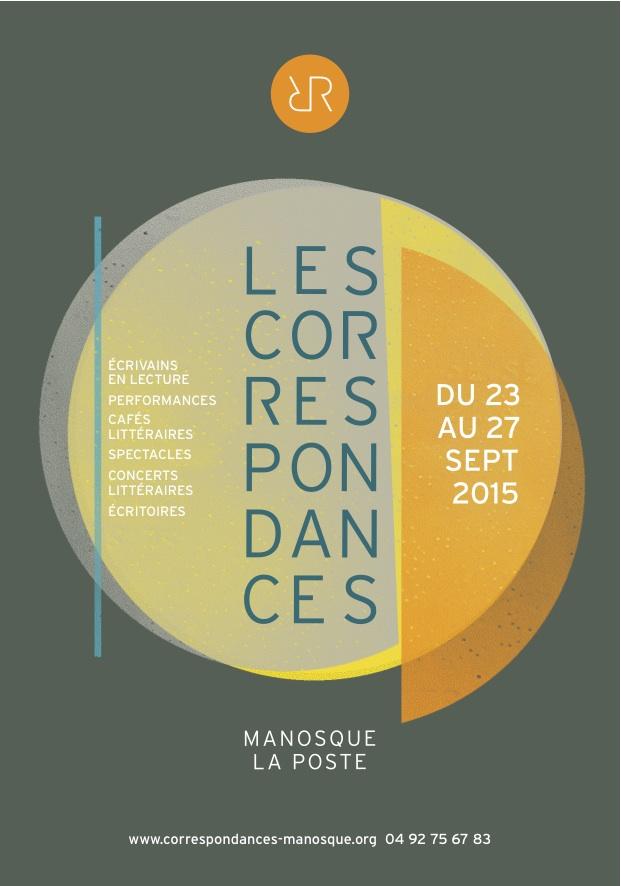 #Partenariat : Les Correspondances de Manosque, la littérature vivante