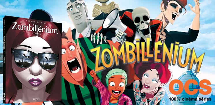 """Tentez de gagner des albums """"Zombillénium"""" et des places pour aller voir le film au cinéma !"""