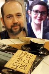 """Conversation virtuelle entre Elise, lectrice, et Olivier Bleys, auteur du roman """"Le maître de café"""""""