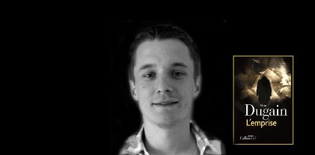 """Anthony, lecteur du mois pour """"L'Emprise"""" de Marc Dugain"""