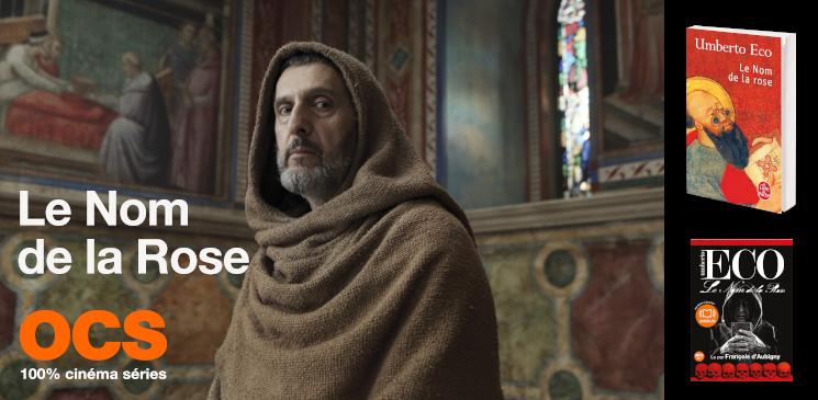 """La série """"Le Nom de la Rose"""" arrive... gagnez le chef-d'œuvre d'Umberto Eco !"""