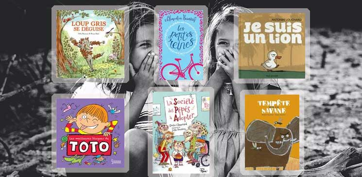 Des livres jeunesse pour rire et s'amuser tout l'été
