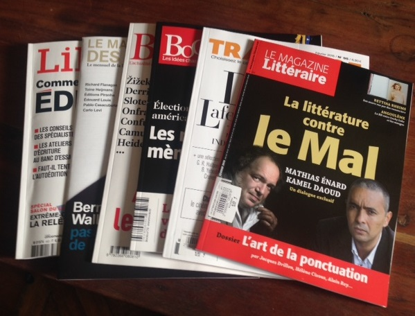 Kamel Daoud et le Mal absolu, Dany Laferrière et le mal français, s'auto-éditer : comment on fait ?