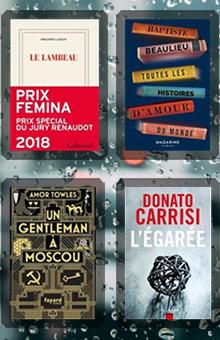 Les 10 livres coups de cœur des lecteurs - novembre 2018