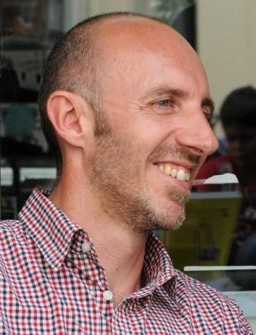 Portrait de Pascal Thuot, libraire à Vincennes et juré du Prix Orange du Livre 2014