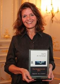 Bravo à Maylis de Kerangal, lauréate du Prix Orange du Livre 2014