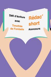 Défi d'écriture Rédac'short : les finalistes