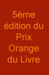 La soirée de remise du Prix Orange du Livre 2013