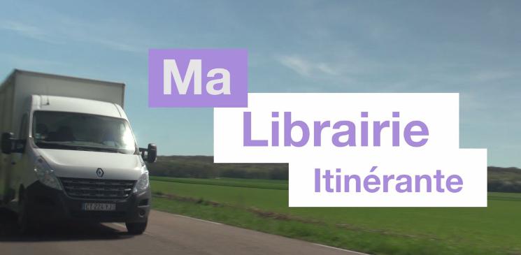 Découverte d'une librairie itinérante : La Librairie du Poussin