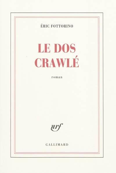 """Interview d'Eric Fottorino à propos de son roman, """"Le dos crawlé"""""""