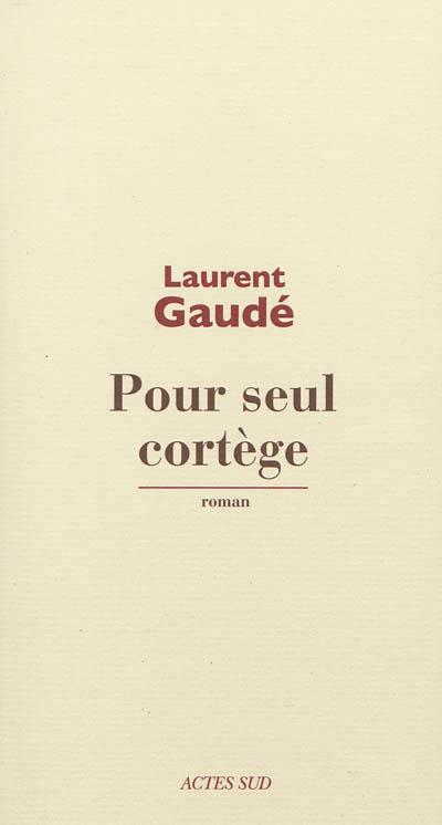 """Autour d'un verre avec Laurent Gaudé à propos de son roman """"Pour seul cortège"""""""