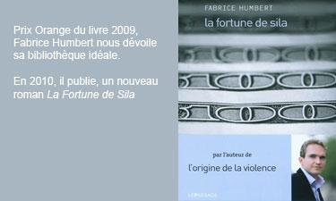 La bibliothèque idéale de Fabrice Humbert