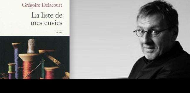 La bibliothèque idéale de Grégoire Delacourt