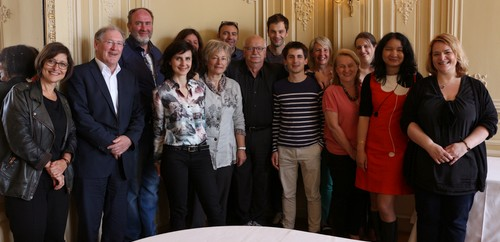 Le jury du Prix Orange du Livre 2015 au complet