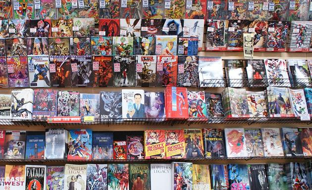 BD, mangas, comics, romans graphiques