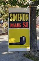 Simenon par Clémentine Mélois, Correspondance de Manosque