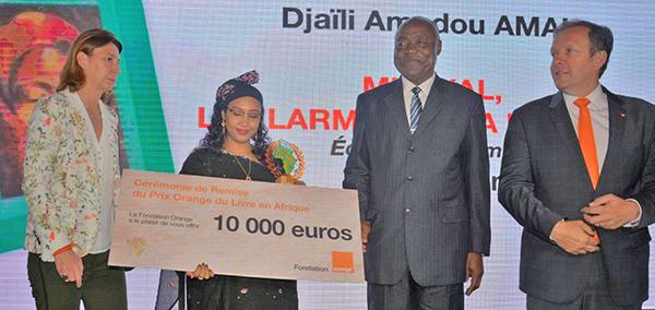 Remise du Prix Orange du Livre en Afrique 2019