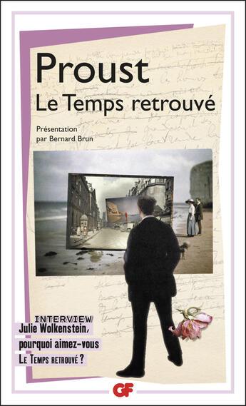 Couverture du livre « À la recherche du temps perdu t.7 ; le temps retrouvé » de Marcel Proust aux éditions Flammarion