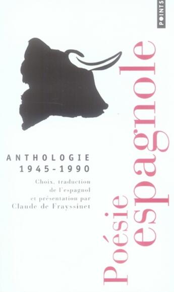 Couverture du livre « Anthologie 1945-1990 » de Frayssinet Claude (D aux éditions Points