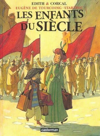 Couverture du livre « Eugene Tourcoin Enfants2 » de Edith/Corcal aux éditions Casterman