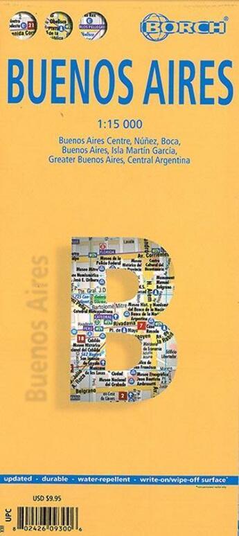 Couverture du livre « Buenos aires » de Collectif aux éditions Borch Gmbh