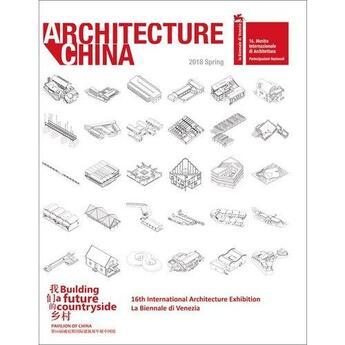 Couverture du livre « Architecture china » de Xiangning Li aux éditions Images Publishing